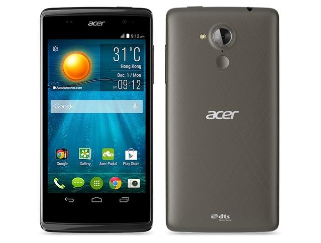 Acer привезла в Украину Двухсимный смартфон Liquid Z500 с IPS-дисплеем