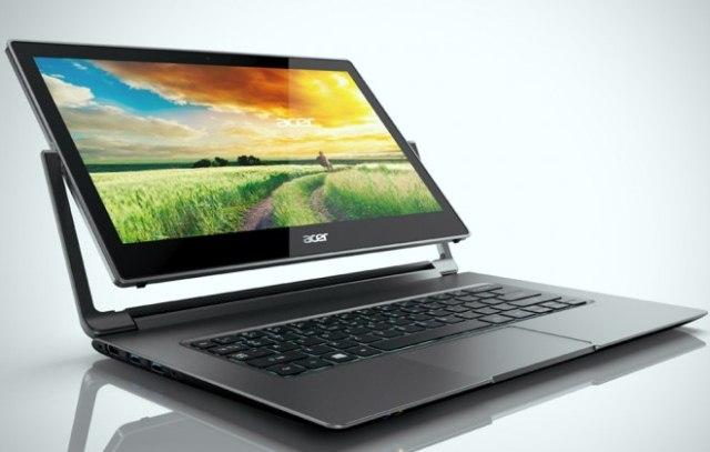 Ноутбуки-перевертыши Acer R 13, R 14 и Aspire Switch 11