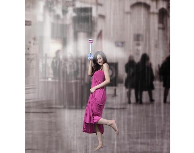 Невидимый зонт Air Umbrella защитит от дождя воздушным потоком