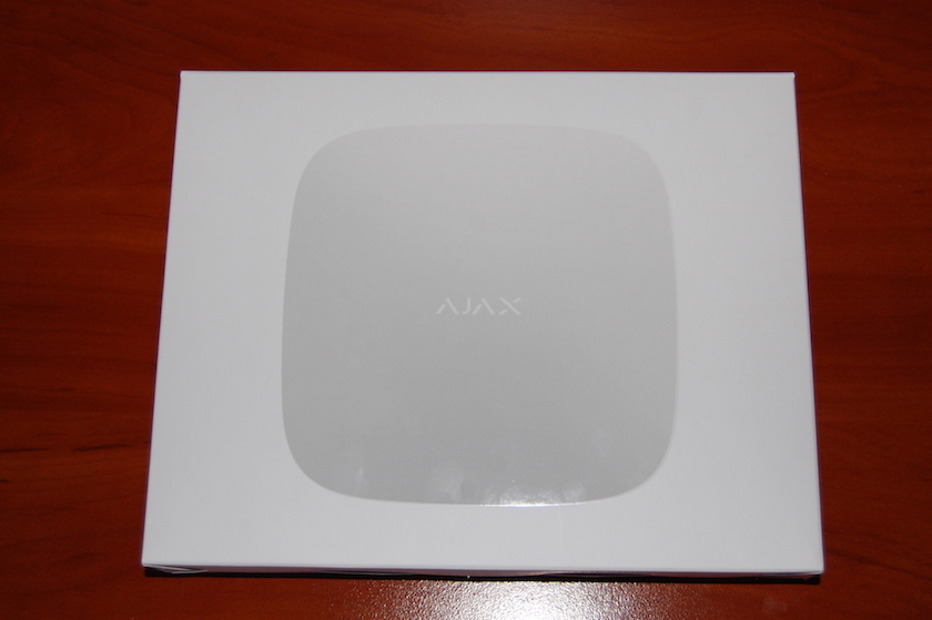 The box for Ajax Hub