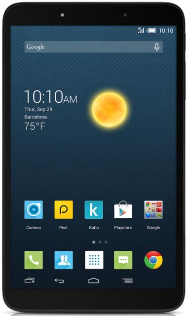 Пару свежих устройств Alcatel на IFA 2014: смартфон OneTouch Hero 2 и планшет Hero 8-4