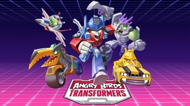 Первая демонстрация геймплея Angry Birds Transformers
