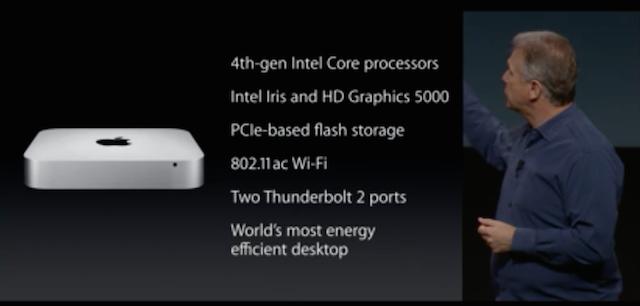 Презентация Apple (октябрь 2014): iPad Air 2, iPad mini 3, iMac с Retina-экраном и новый Mac mini-2