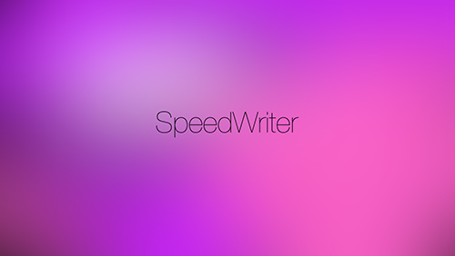 Приложение Дня для iOS: Speed Writer-3
