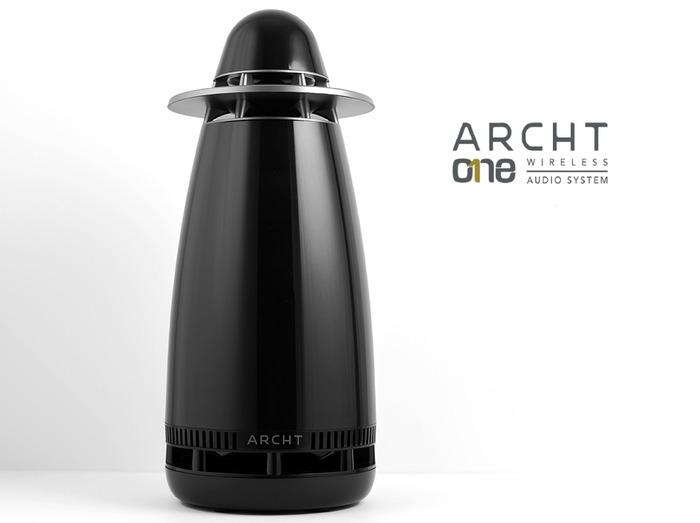 Беспроводная акустика Archt One с 50 Вт усилителем и всенаправленным звуком