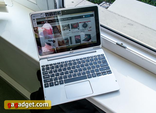 Обзор планшета-трансформера Acer Aspire Switch 10