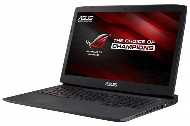Asus анонсировала серию геймерских ноутбуков G751 с графикой GeForce GTX970/980M