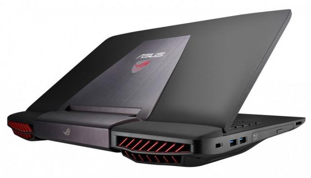 Asus анонсировала серию геймерских ноутбуков G751 с графикой GeForce GTX970/980M-2