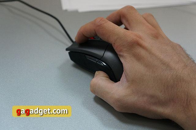 Меч для виртуальных битв: обзор геймерской мышки Asus ROG Gladius-12