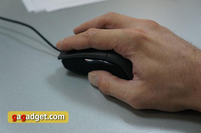 Меч для виртуальных битв: обзор геймерской мышки Asus ROG Gladius-13