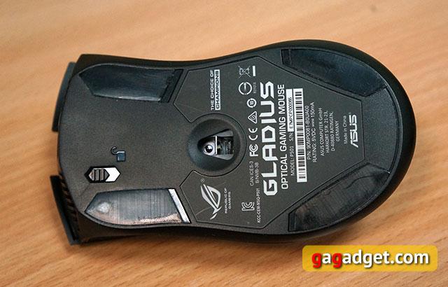 Меч для виртуальных битв: обзор геймерской мышки Asus ROG Gladius-5