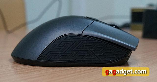 Меч для виртуальных битв: обзор геймерской мышки Asus ROG Gladius-8