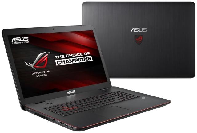 ASUS ROG G551 и G771: геймерские ноутбуки с графикой NVIDIA GeForce GTX 860M