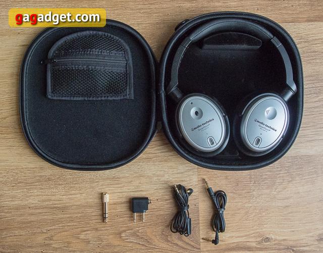 Обзор наушников с активным шумоподавлением Audio-Technica ATH-ANC7b-2