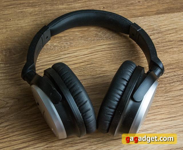 Обзор наушников с активным шумоподавлением Audio-Technica ATH-ANC7b-3