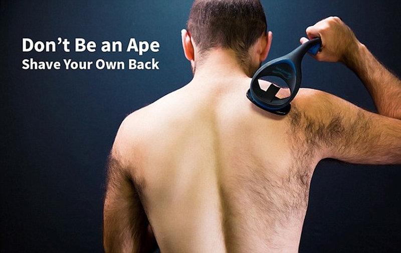 Гаджет для бритья спины собрал на Indiegogo полмиллиона долларов