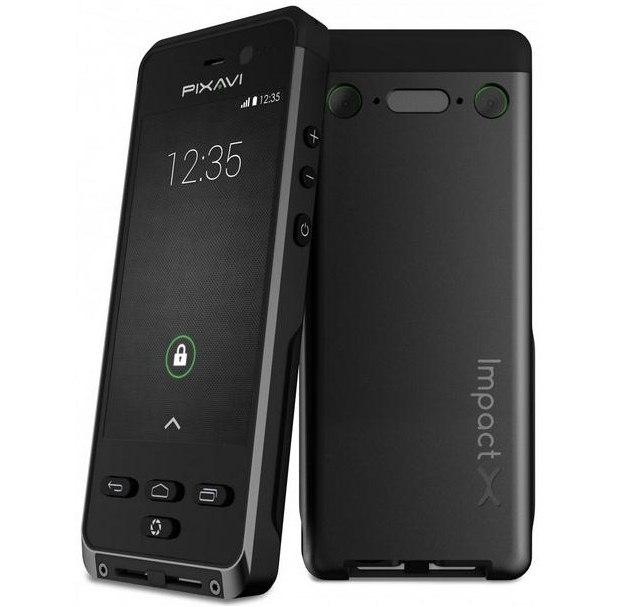 Bartec Pixavi Impact X: защищенный от воды, пыли, грязи и... взрывов смартфон