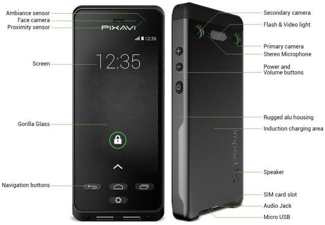 Bartec Pixavi Impact X: защищенный от воды, пыли, грязи и... взрывов смартфон-4