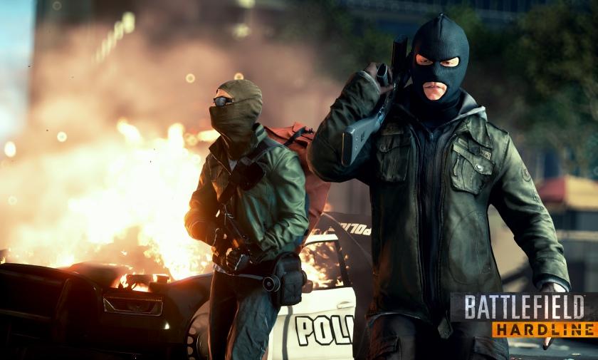 Геймплейный трейлер Battlefield Hardline с демонстрацией особенностей игры