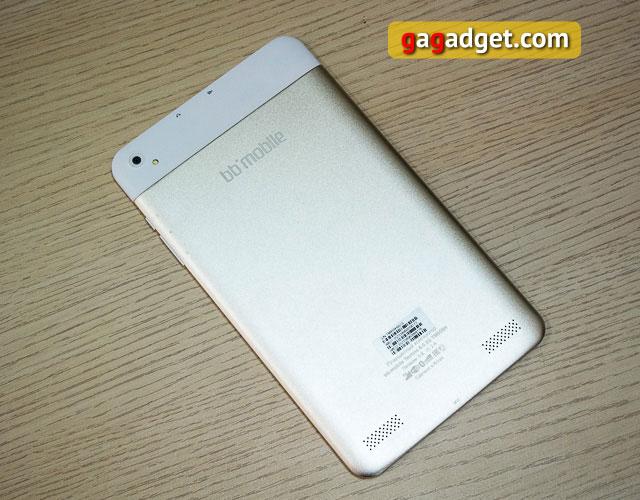 Обзор 8-дюймового металлического планшета bb-mobile Techno 8.0 3G-5