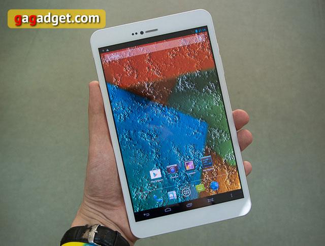 Обзор 8-дюймового металлического планшета bb-mobile Techno 8.0 3G-3