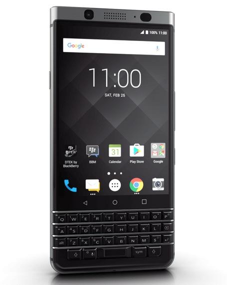 Компания BlackBerry выпустила новый смартфон сполноценной клавиатурой