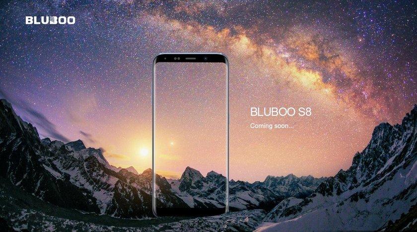 Появились детали по телефону Bluboo S8