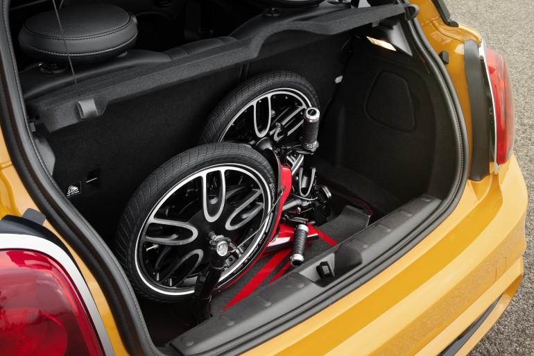Mini CitySurfer: складной электроскутер по версии BMW-3