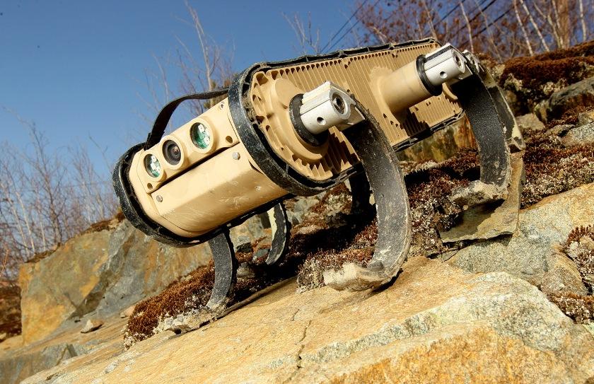 RHex грязи не боится