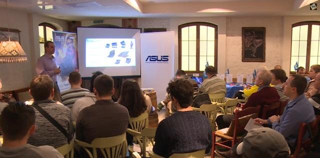 ТехноПарк: Презентация новых трансформеров и смартфонов от Asus