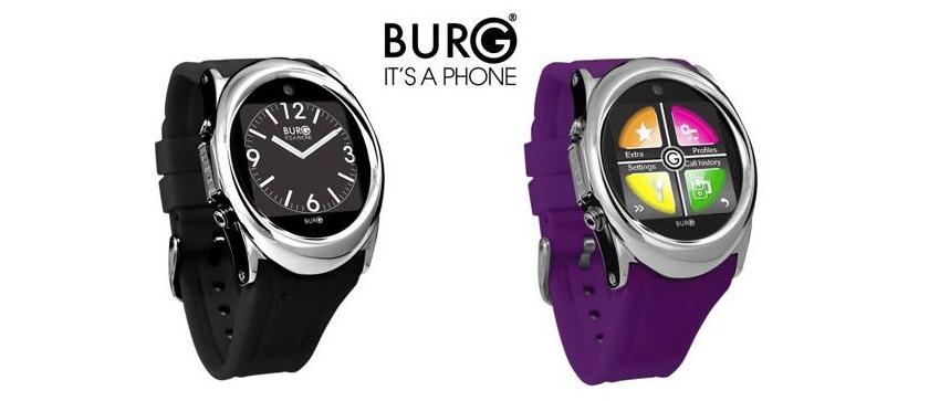 Burg 12: «умные» часы с полноценной телефонной функциональностью
