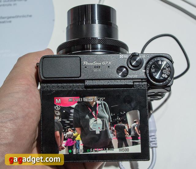 Photokina 2014. Canon EOS 7D Mark II и PowerShot G7 X своими глазами-5