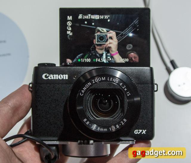 Photokina 2014. Canon EOS 7D Mark II и PowerShot G7 X своими глазами-6