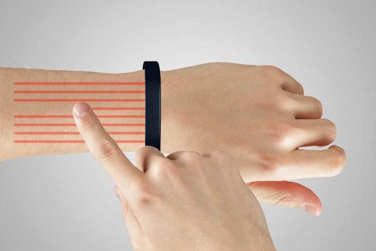 «Умный» браслет Cicret превратит руку в планшет-3