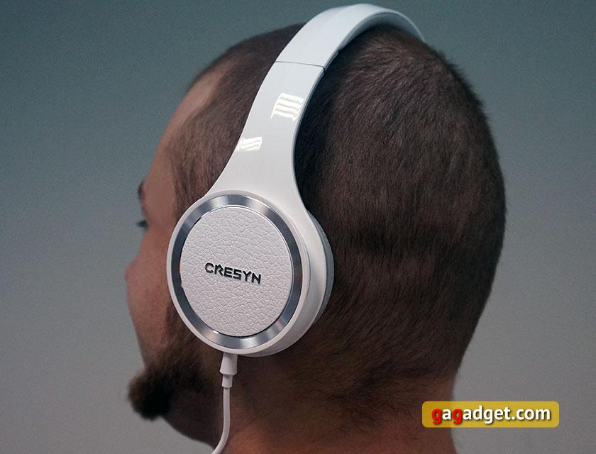 Обзор накладных закрытых наушников Cresyn C750H
