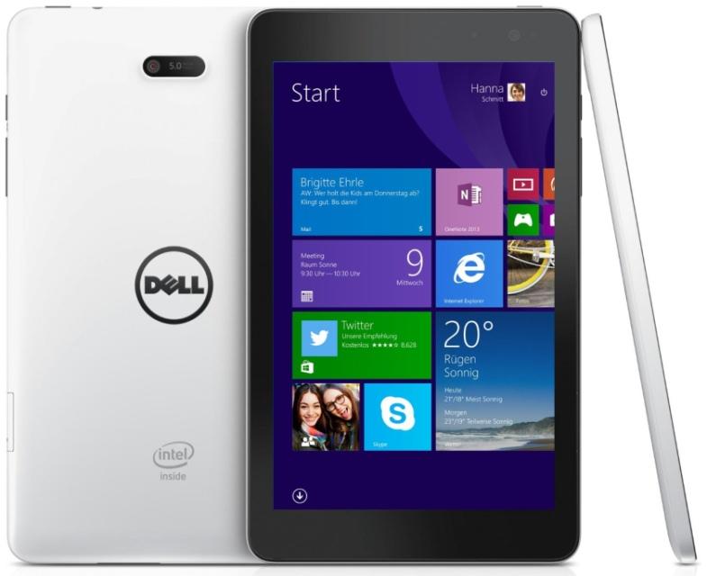 Dell выпустила недорогой Windows-планшет Venue Pro 8 3000-2