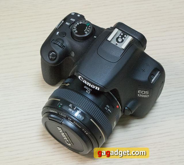 Обзор цифрового зеркального фотоаппарата Canon EOS 1200D