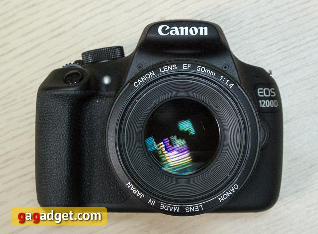 Обзор цифрового зеркального фотоаппарата Canon EOS 1200D-2