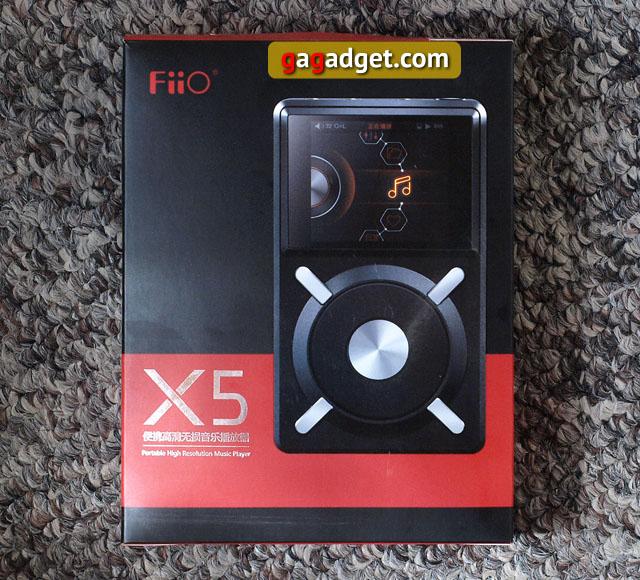 Обзор hi-fi плеера FiiO X5-2