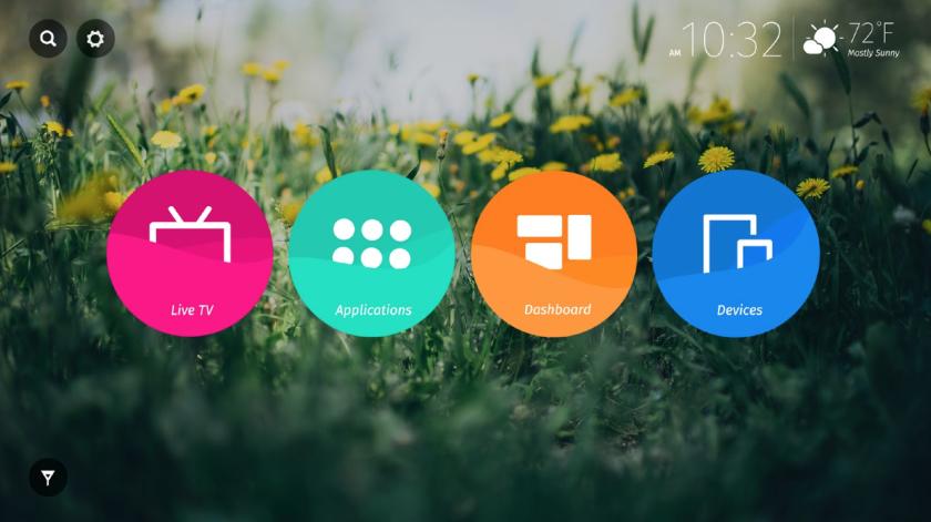 Скриншоты и информация о Firefox OS для «умных» телевизоров