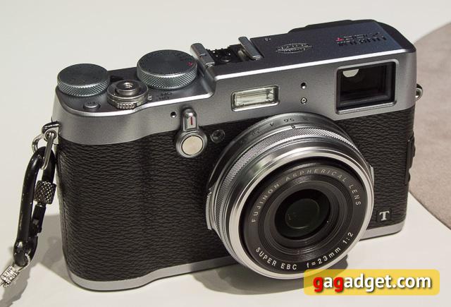 Photokina 2014. Fujifilm X100T и X30 своими глазами