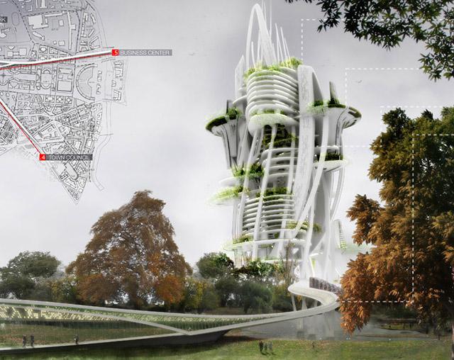 Вавилонские башни будущего: самые необычные концепты небоскребов-2