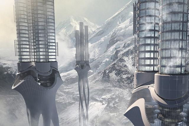 Вавилонские башни будущего: самые необычные концепты небоскребов-4