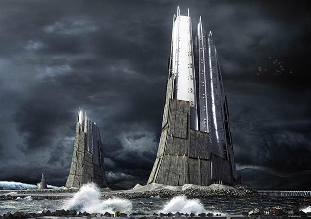 Вавилонские башни будущего: самые необычные концепты небоскребов-5