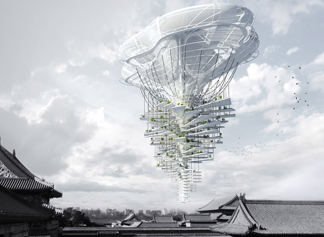 Вавилонские башни будущего: самые необычные концепты небоскребов-6