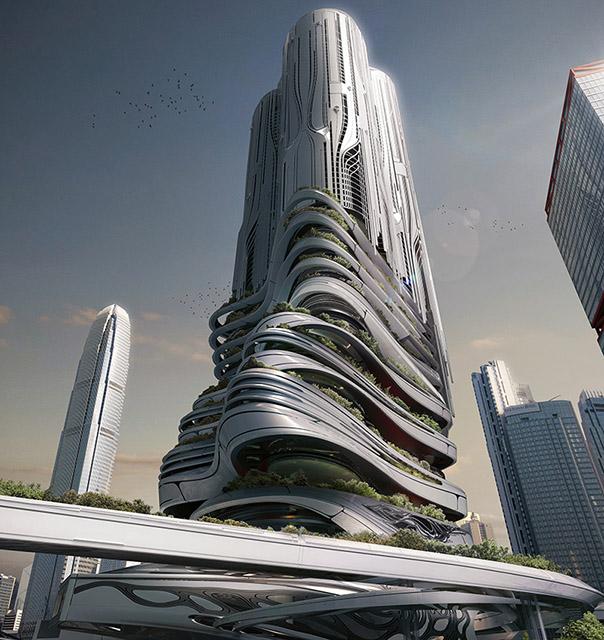 Вавилонские башни будущего: самые необычные концепты небоскребов-8