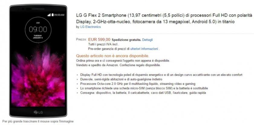Стала известна ориентировочная стоимость изогнутого смартфона LG G Flex 2-2
