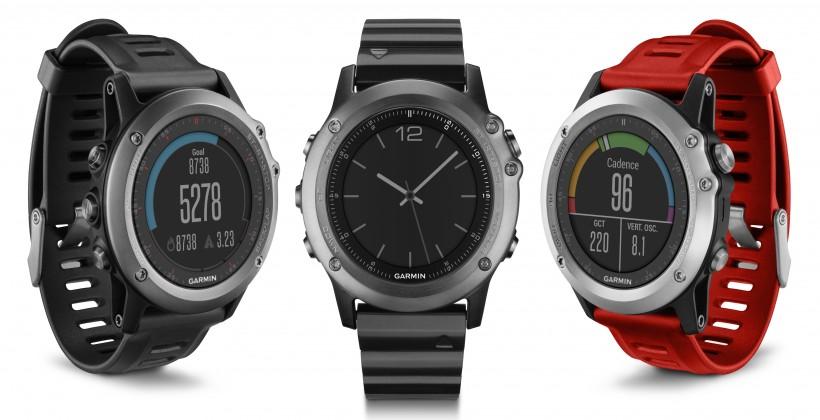 Смарт-часы для серьезных спортсменов и туристов Garmin Fenix 3 и Epix