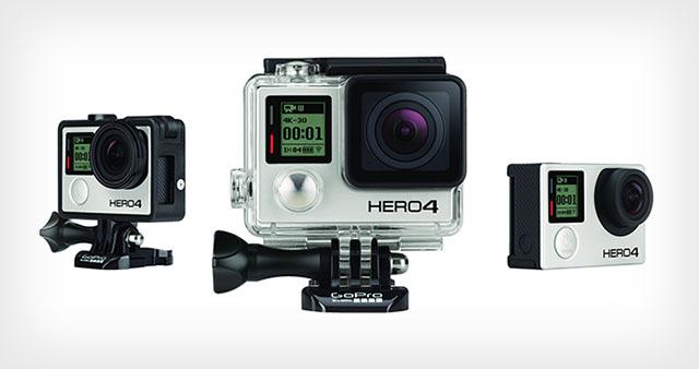GoPro представит 8 октября камеры Hero4 Black и Silver Edition (update)