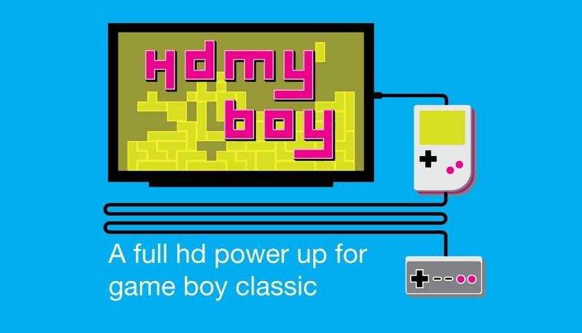 HD-апгрейд hdmyboy к 25-летию портативной игровой консоли Game Boy